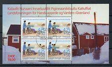 GRÖNLAND Bl.11 EST BEHINDERTE IN GRÖNLAND - BLOCKAUSGABE !!! (127413)
