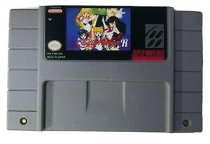 Sailor Moon R SNES Super Nintendo English Traslation USA Seller NTSC
