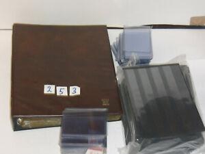 253) Aufbewahrung: Puzzle-Album + 18 Einlege-Blätter + 65 Puzzle Hüllen