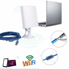 Outdoor Long Range USB 150Mbps Wireless Wifi Adapter Receiver Antenna 5m Cable