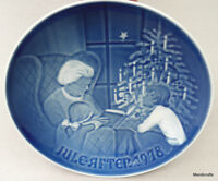 B&G Collector Plate 1978 Denmark Christmas Tale Bing & Grondahl signed Thelander