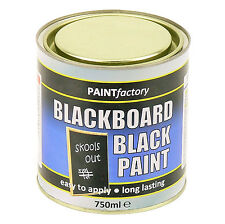 750ml long life chalkboard paint can easy to apply