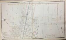 1894 PLAINFIELD UNION COUNTY NEW JERSEY NETHERWOOD HOTEL & STATION ATLAS MAP