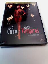 """DVD """"EL CIRCO DE LOS VAMPIROS"""" HAMMER FILMS EDICION REMASTERIZADA ROBERT YOUNG"""