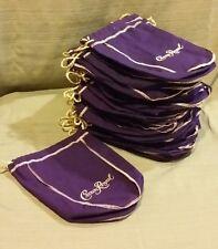 """Crown Royal Liquor Bottle Bags - Purple & Gold Bag Size 9"""" x 7 1/2""""  $2.50 each"""
