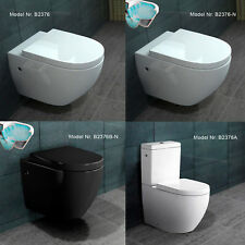 spülrandlos / mit Spülrand Wand Hänge / Stand WC Toilette Nano / Softclose Sitz
