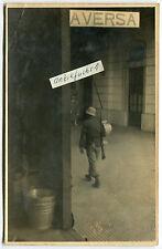Foto : WH-Soldat in Aversa in Italien 1944 beim Bandenkampf