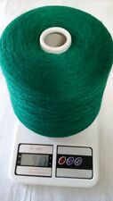 blend with 70% merino 10% cashmere 20% silk yarn cone color in green