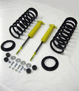 Mustang II Front End Suspension 350 lb Spring & Shock Kit Tubular A-Arms 2NDS
