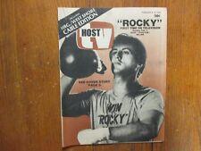Feb 4-1979 Pa. TV Host Magazine(ROCKY/SYLVESTER STALLONE/THE HORROR SHOW/THE WIZ
