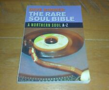 The Rare Soul Bible: A Northern Soul A-Z, Dave Rimmer 2002, Paperback- EXC COND!