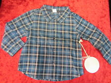 EGG BABY designer botique kids clothes Boys shirt sz 2 Y plaid LS  NEW w $42 tag