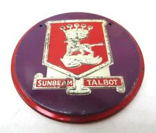 "Vintage Wheaties Cereal Premium Prize Embossed Auto Logo Emblem - Sunbeam 3.5"""