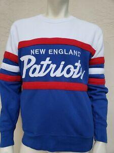 Mitchell & Ness Throwbacks EUC ENGLAND PATRIOTS Stitched Medium Sweatshirt