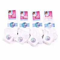 Girls School Cotton Frilly Lace Ankle Socks Kids Summer White Sock 3 6 12 Pairs