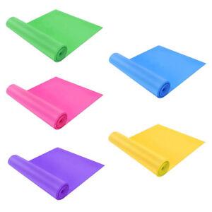 2pcs Yoga Elastic Straps Latex Band for Pilates Fitness Multicolor New
