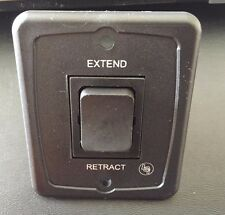Extend Retract Switch 40A 12v DC Black Camper Trailer RV New On Shelf