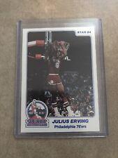1984 Star Slamdunk Championship Julius Erving 76ers 34th NBA All Star Game