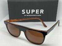 RetroSuperFuture 409 Gents Flattop Frame Sunglasses NIB