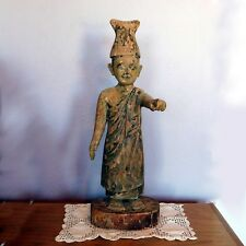 OLD Antique Carved Wood Religious Santos / Santo Figure / 18th or 19th Century