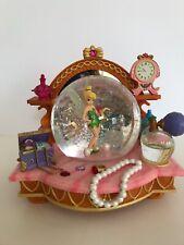 Disney Tinkerbell The Pink Vanity Musical Snowglobe