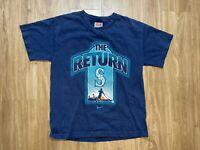 Nike Seattle Mariners Griffey Jr Return Shirt Size Medium Boys 2009