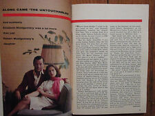 Aug 19- 1961 TV Guide(ELIZABETH  MONTGOMERY/JOYCE GORDON/BEWITCHED/TROY DONAHUE)