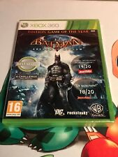 Batman Arkham Asylum Edition Game of the Year (Xbox 360) PAL FR - Neuf