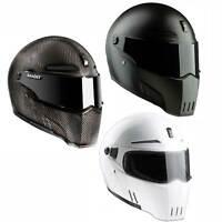 Bandit Alien II Motorcycle Helmet Streetfighter ECE 22-05 certified  ventilation