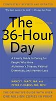 THE 36-HOUR DAY Nancy L. Mace, Peter V. Rabins a paperback book FREE SHIPPING
