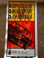 Sub Pop Presents Supersuckers The Hellacopters Zen Guerrilla Poster 172/500