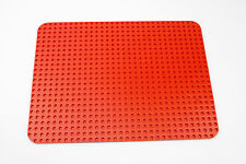 Vintage Lego 24 x 32 Thin Red Baseplate from Lego Set 358