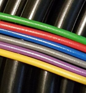 Motorcycle Wire - 6 Random Colours + 1m H/T Cable - CL77