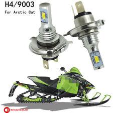 For Arctic Cat 100W LED Headlight Bulbs Proclimb M800 Procross XF1100 XF800 F800