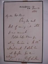 Archibald Campbell Tait 1867 ALS - Bible