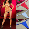 1X Sexy Women Pant Stripper Dancer Micro G-String Thong Underwear Lingerie