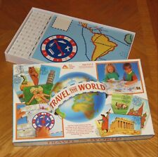 Vintage Early Learning Centre - Travel The World - Geography Board Game