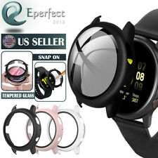 For Samsung Galaxy Watch Active 2 44mm 40 Hard Case Full Cover Screen Protector