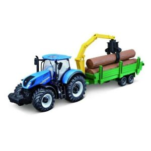 New Holland & Tree Forwarded T7.315 Diecast Metal Model.1:50 Scale.Farm Toy Gift