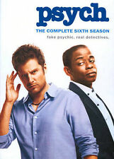 Psych : Season 6 (DVD, 2014, 4-Disc Set) Brand New And Sealed!!