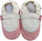 shoeszoo mary jane flower pink 12-18m S soft sole leather baby shoes