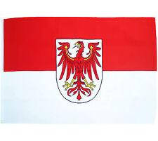 Fahne Brandenburg Querformat 90 x 150 cm brandenburgische Flagge Bundesland BRD