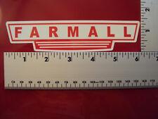 Farmall sticker decal Tractor Case IH International Harvester IMCA NHRA USRA