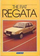 Fiat Regata 70 85 100 Comfort ES Super 1984-85 Original UK Sales Brochure