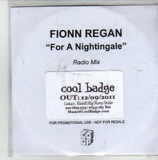 (CG883) Fionn Regan, For A Nightingale - 2011 DJ CD