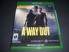 Replacement Case (NO  GAME) A Way Out XBOX ONE 1 XB1 Box 100% Original