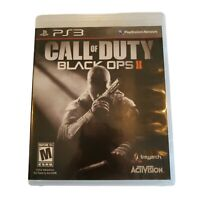 PS3 PlayStation 3 Call of Duty: Black Ops II 2012 Complete Game Case Manual