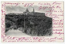 CARTOLINA 1907 LORETO BASILICA DELLA S. CASA DALLA STAZIONE RIF. 8289
