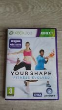 xbox 360 your shape fitness evolved complet version fr etat presque neuf cd
