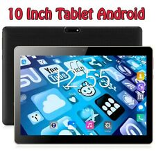10 Inch Tablet Android 7.0 Quad Core Google Market 3G Phone Call Dual SIM Card